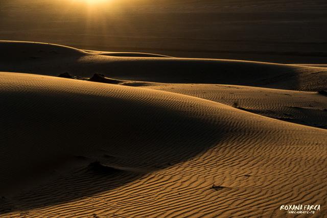 Oman, dune la apus
