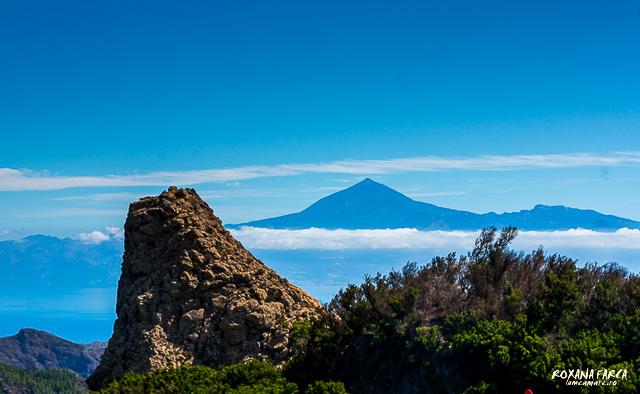 Teide vazut de pe La Gomera, Insulele Canare