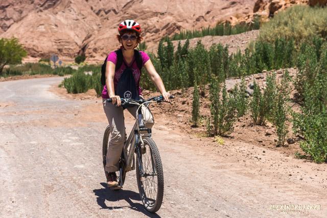 Cu bicicleta intre San Pedro de Atacama si Pukara de Quitor