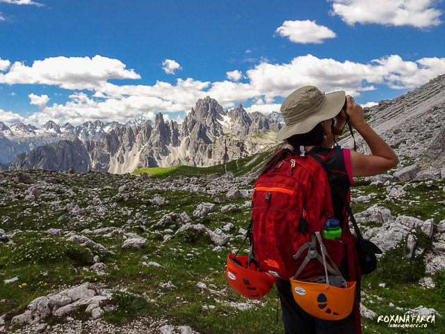 Călătoarea din Dolomiţi