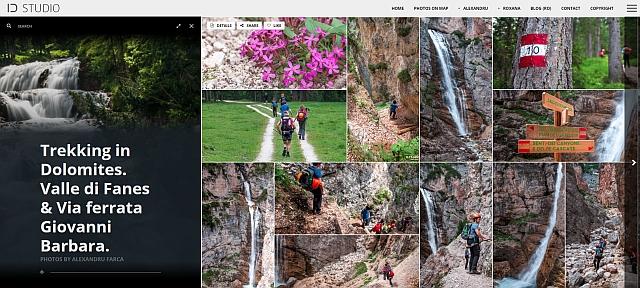 Galerie fotografii trekking Valle di Fanes. Click pe imagine.