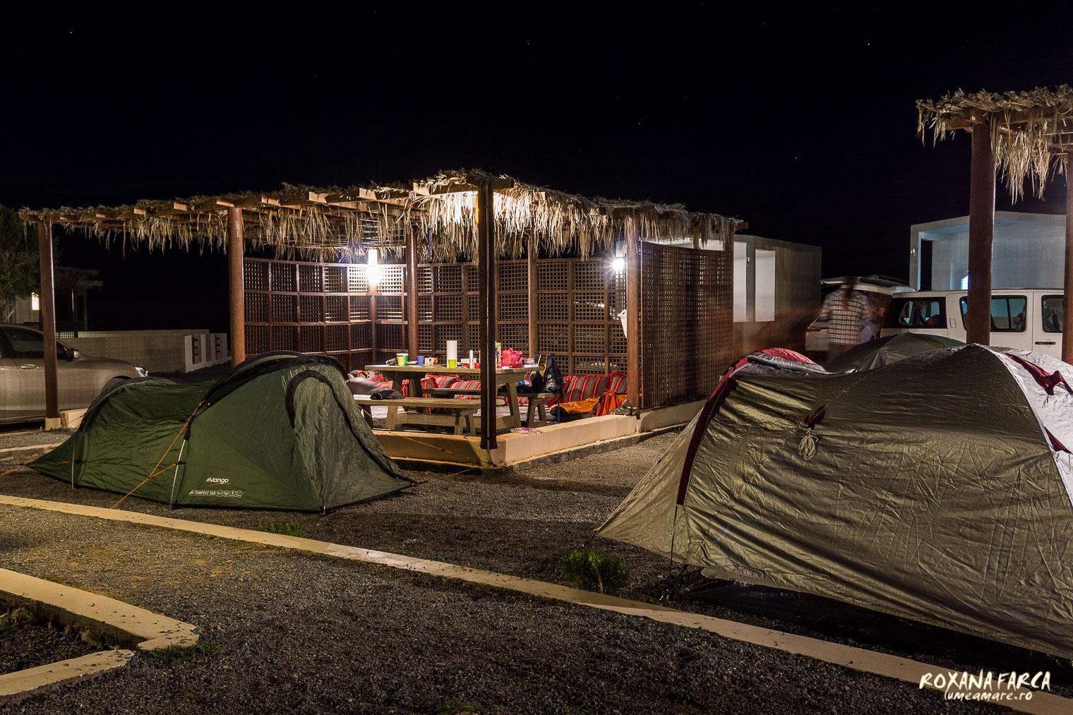 Camping pe Jebel Shams