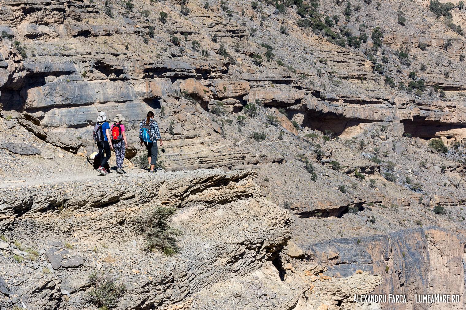 Calatori pe Jebel Shams