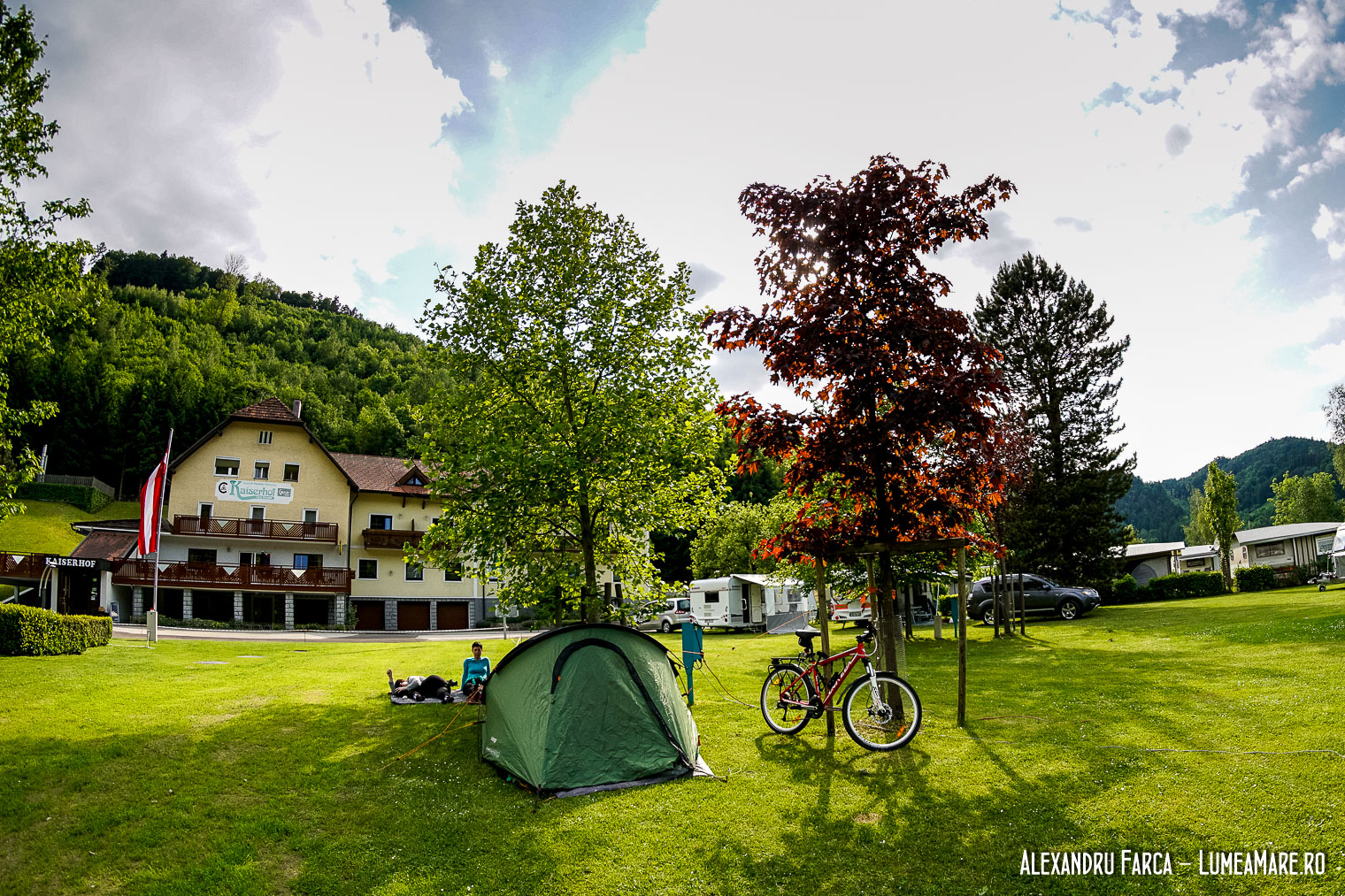 Camping Kaiserau