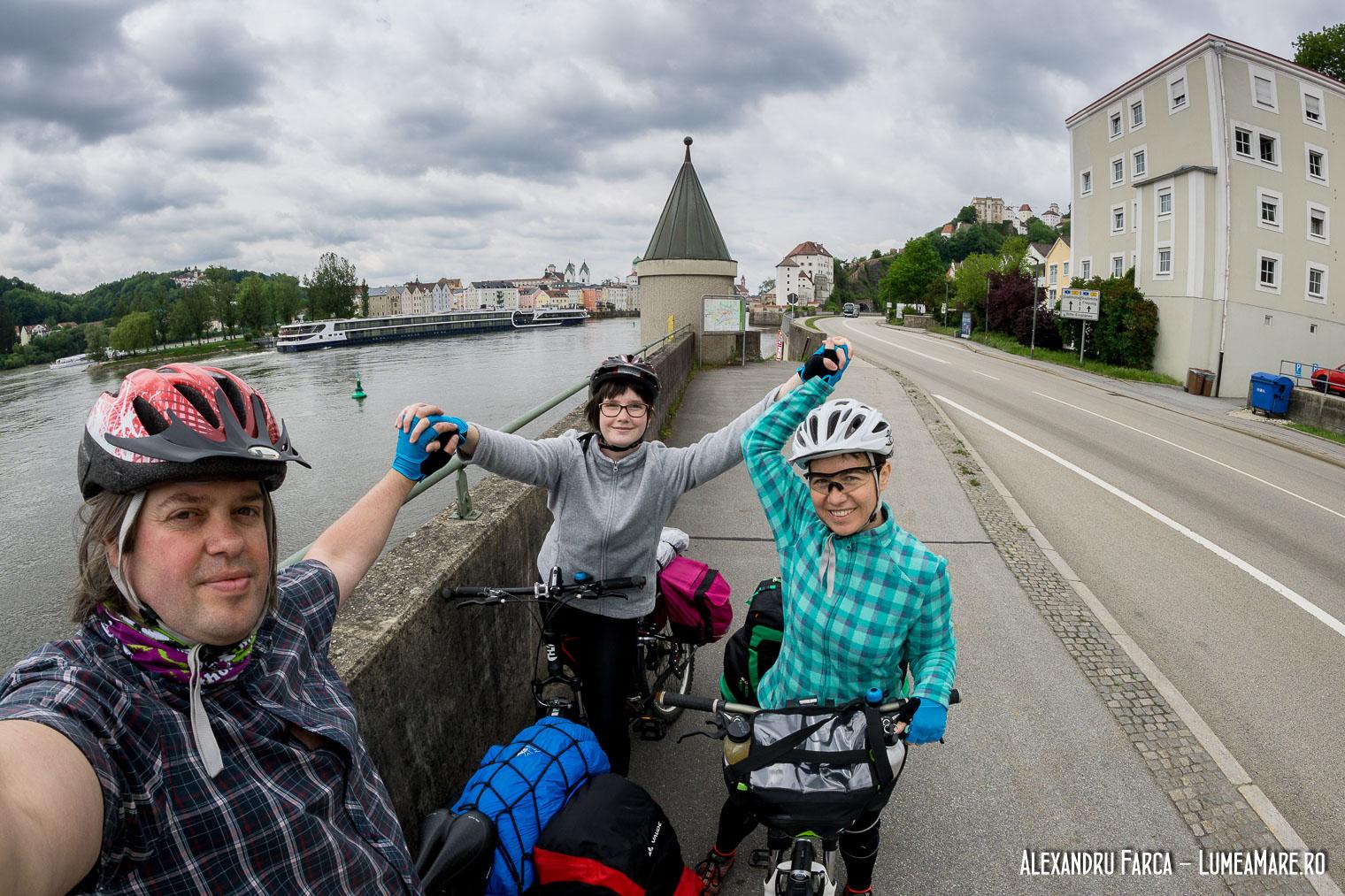 Donauradweg - Passau