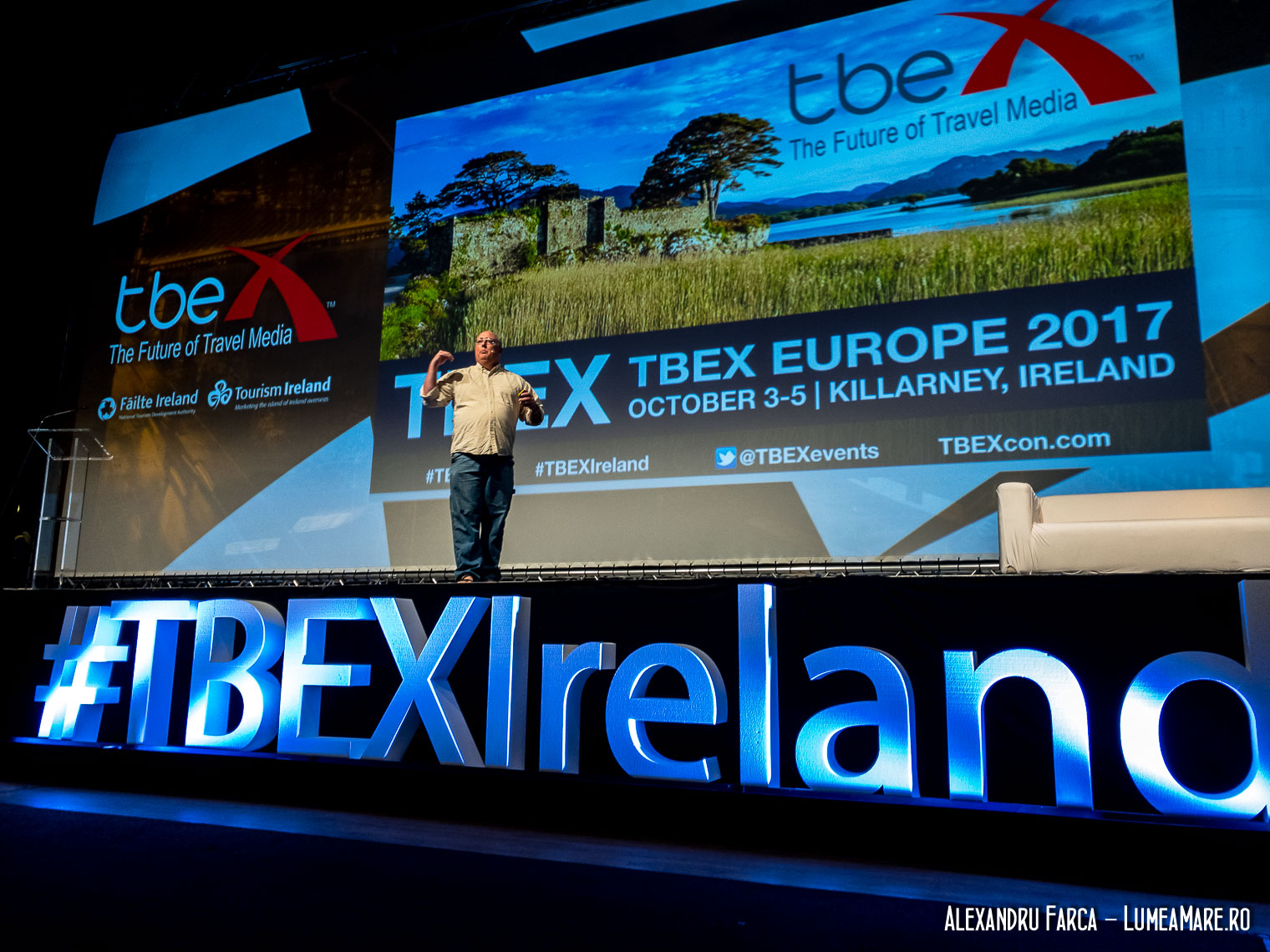 Gary Arndt at TBEX Ireland 2017