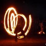 jonglerii cu focul
