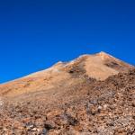 Vulcanul Teide, Tenerife, varful