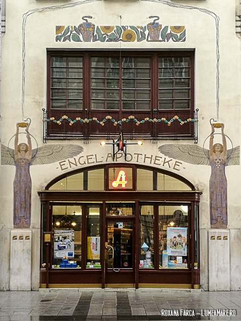 Farmacie Art Nouveau în Viena