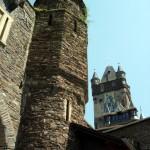 Castelul Reichsburg de pe Valea Moselei
