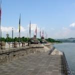 Mosela la Koblenz Coltul German