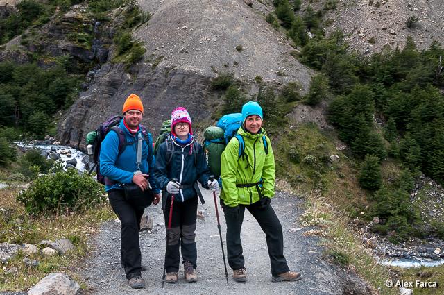 Ultima zi de trekking în Torres del Paine, W Trek