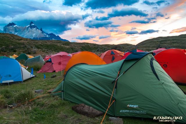 Torres_del_Paine, Camping Paine Grande