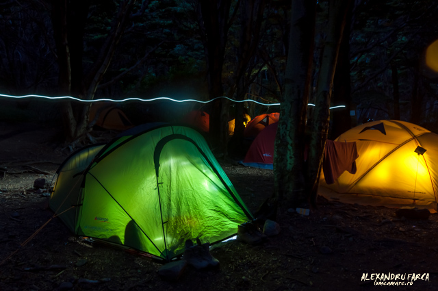 Torres del Paine, Campamento Italiano
