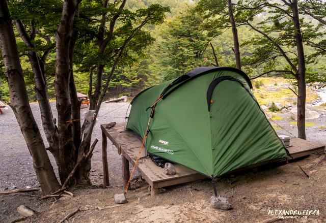 Torres del Paine, Camping El Chileno