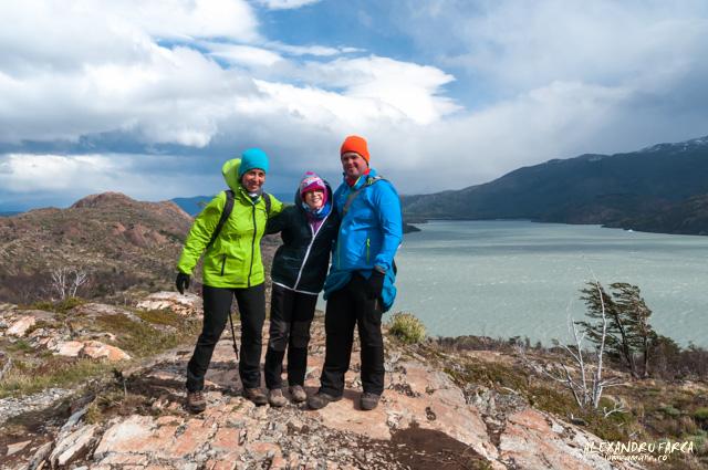 Prima zi de trekking în Torres del Paine, W Trek