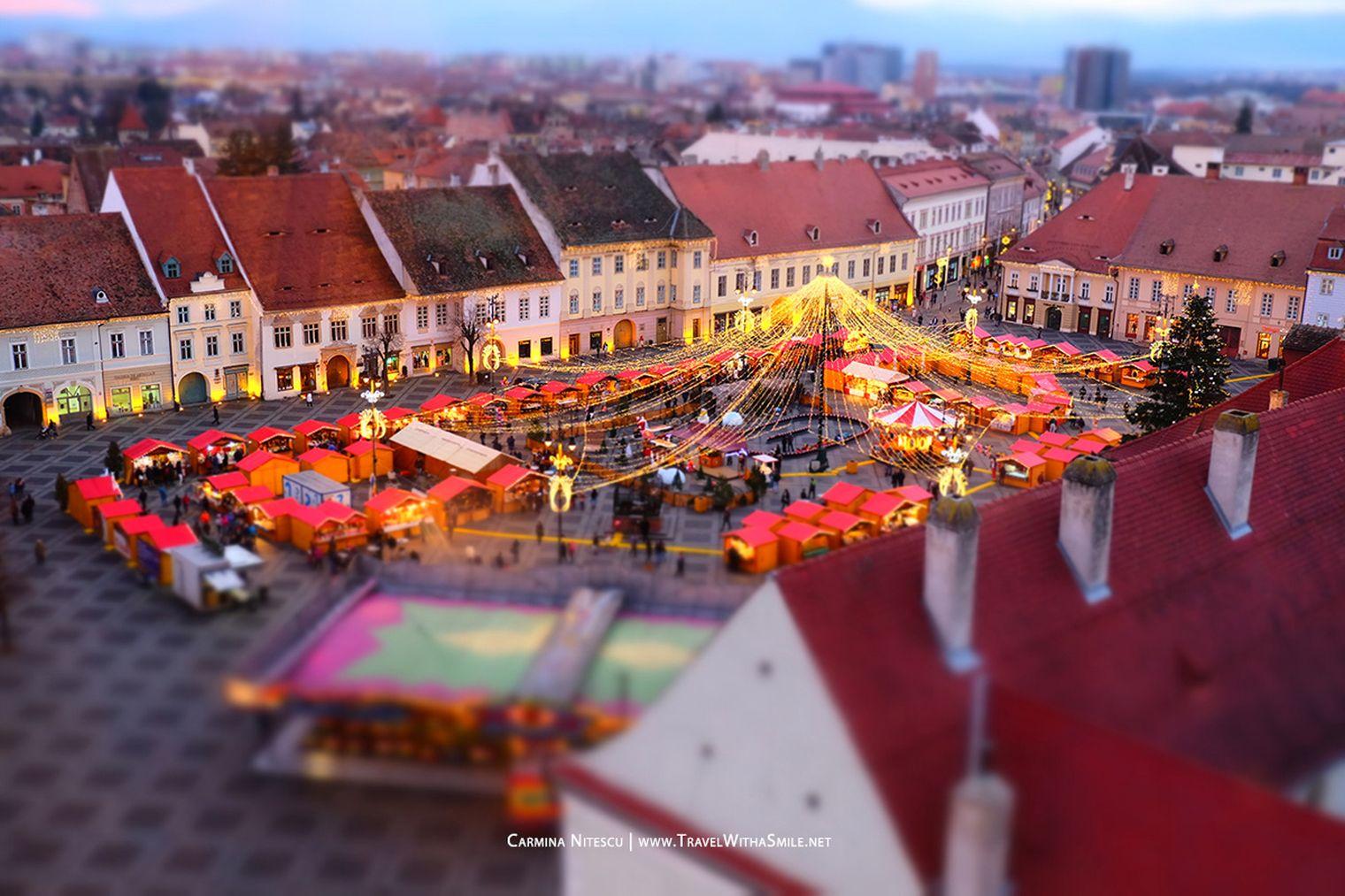 destinații pentru decembrie: Piața de Crăciun din Sibiu