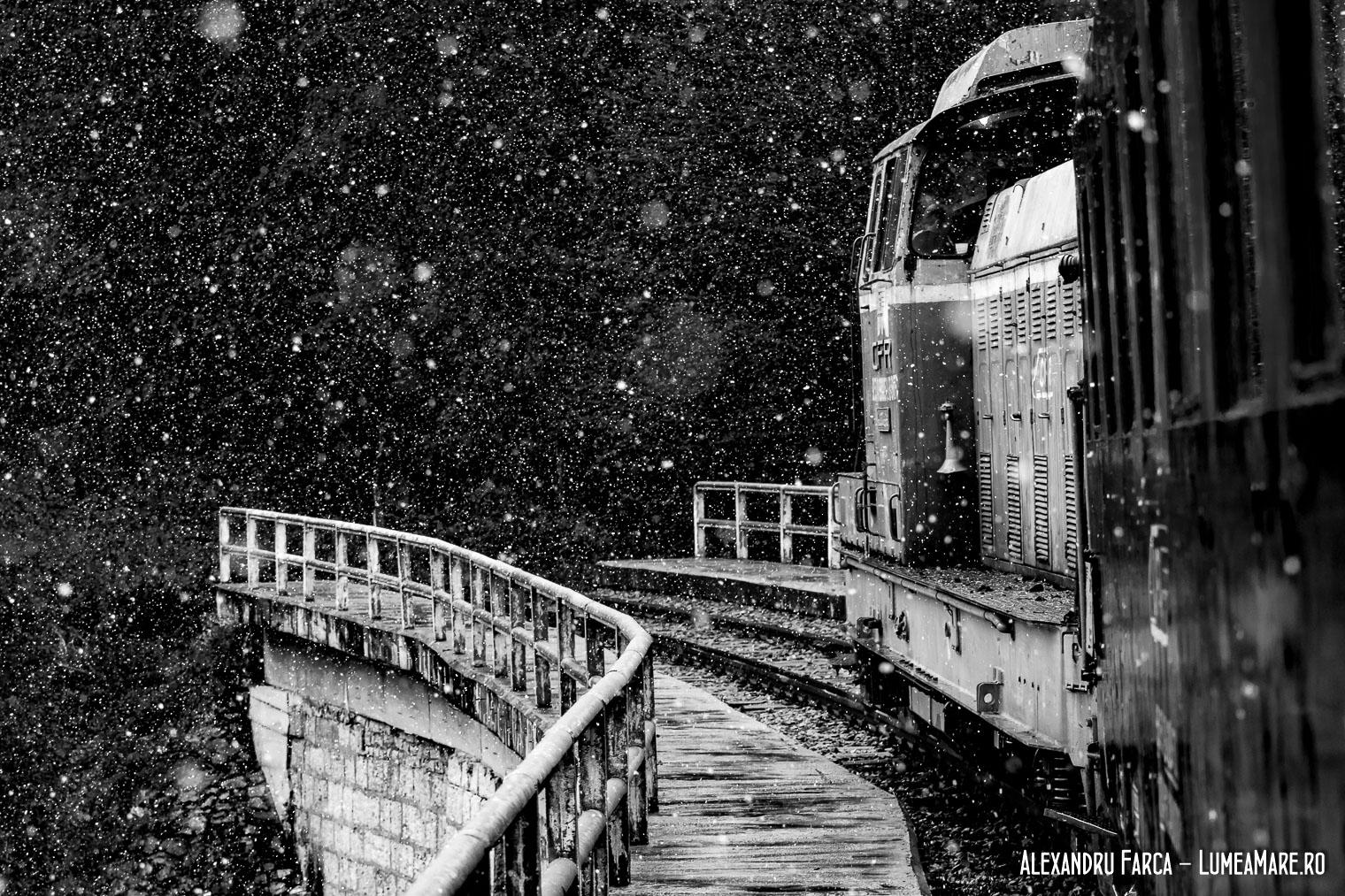 Trenul turistic Oravița Anina.