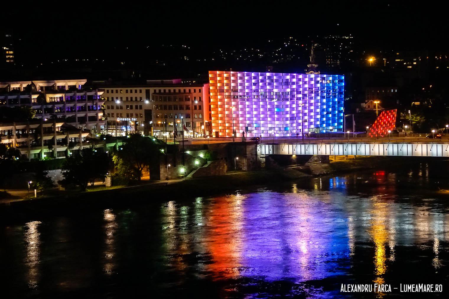 Ars Electronica noaptea, în Linz
