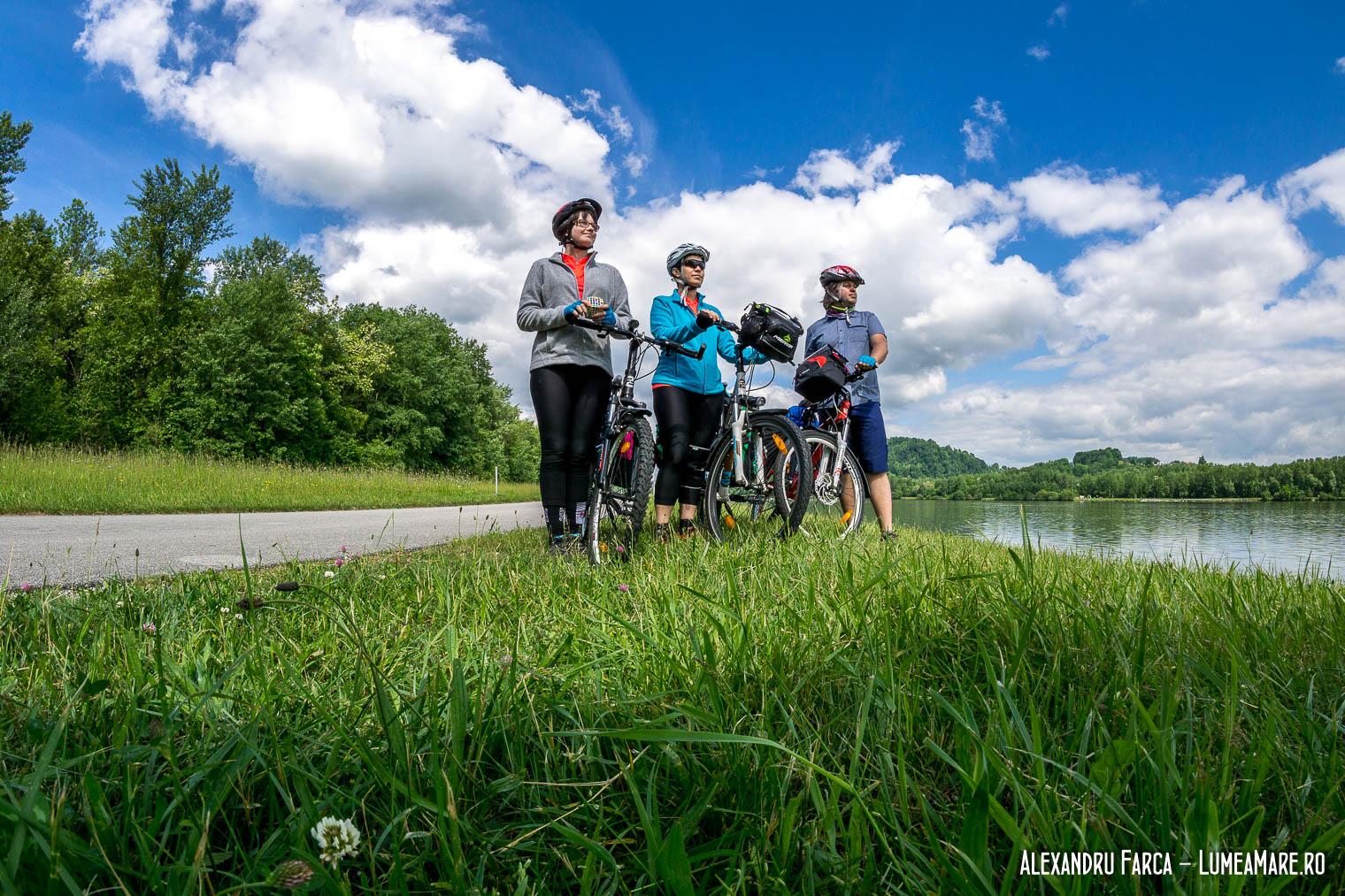 Pe pista de lână Traun și apoi Dunăre
