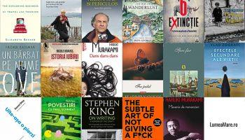 Cele mai frumoase cărți citite în 2017