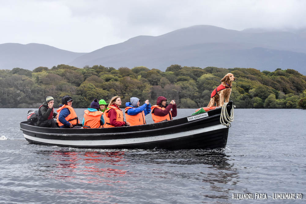 Plimbare cu barca pe lacurile de lângă Killarney