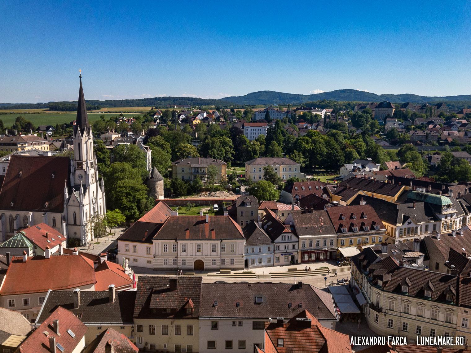 Melk văzut de sus, din mânăstire