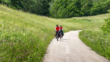 Pedalând pe lângă Dunăre, spre Melk