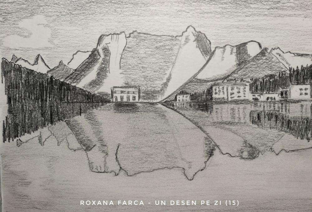 Desen Lacul Misurina