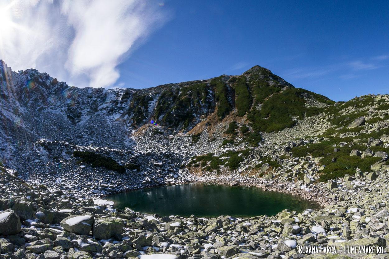 Lacul Ștevia, Retezat