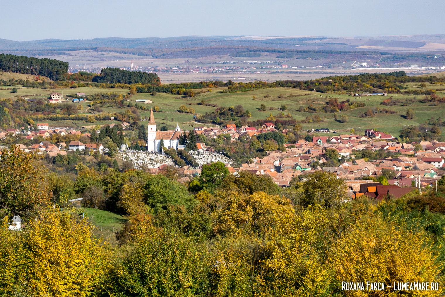 Rășinari văzut de sus - Mărginimea Sibiului