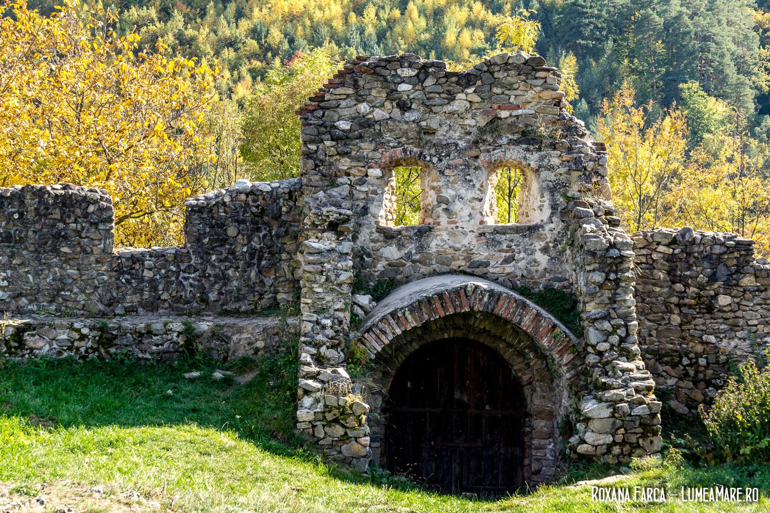 Mărginimea Sibiului, detaliu din Cetatea Cisnădioara