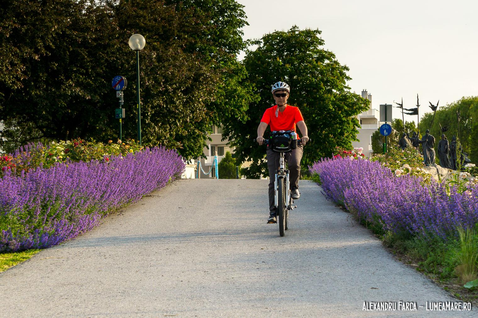 Cu bicicleta prin Tulln