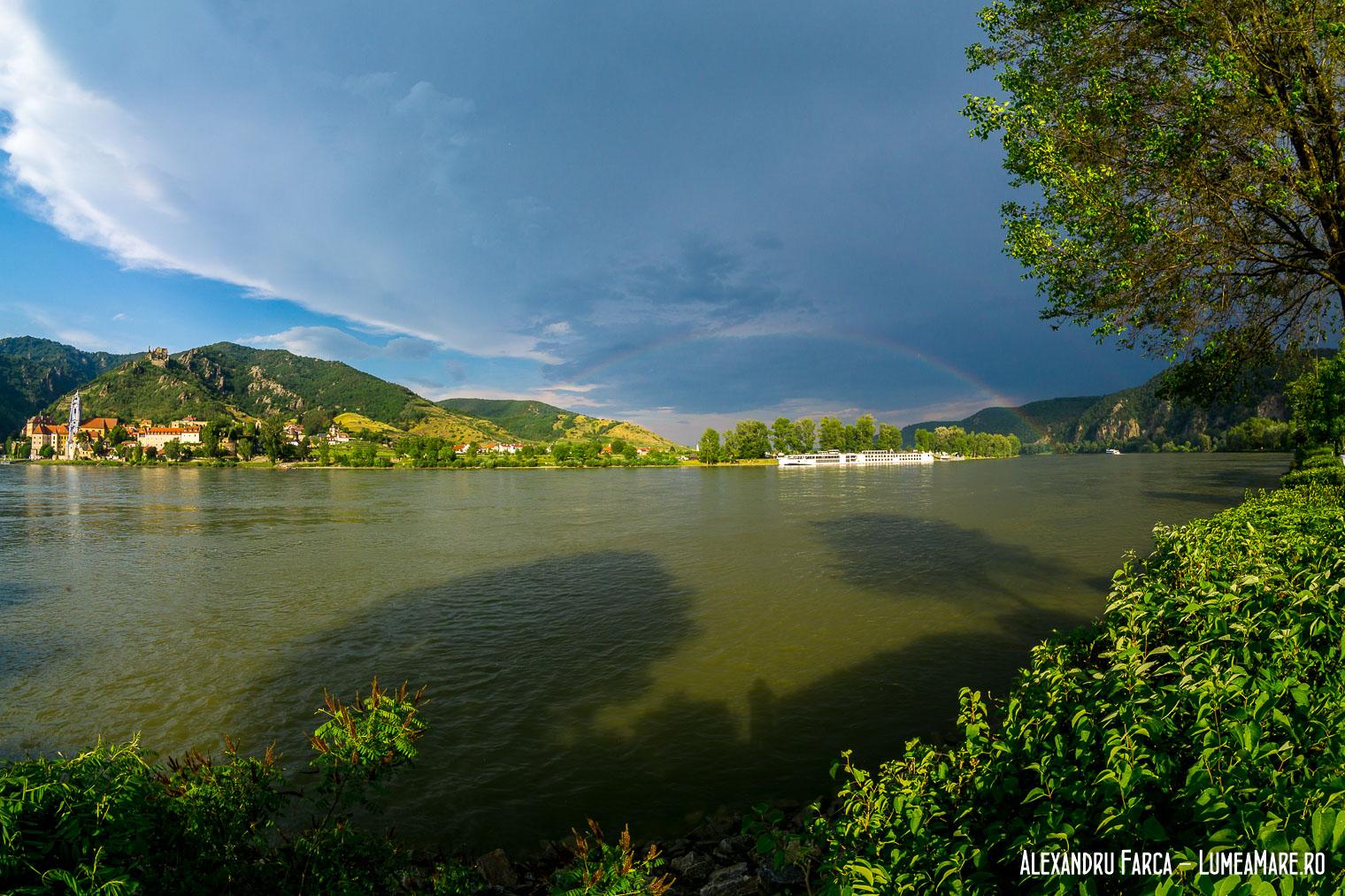 Cucrubeu peste Dunare, in Wachau