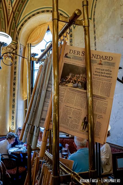 Ziare în cafenelele Vieneze