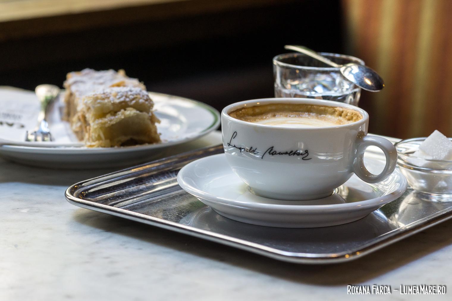 Servirea cafelei în Viena