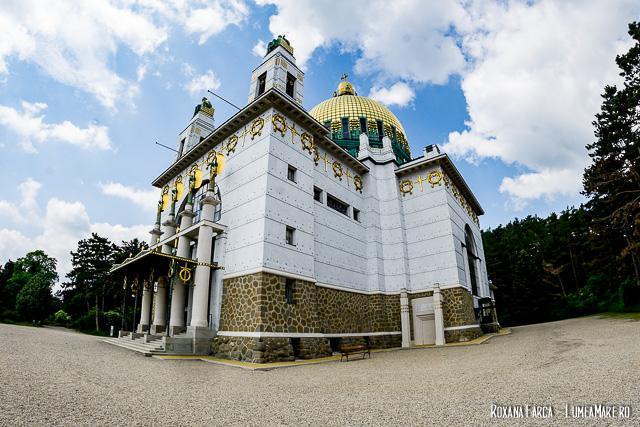 Biserica modernistă Am Steinhof Otto Wagner