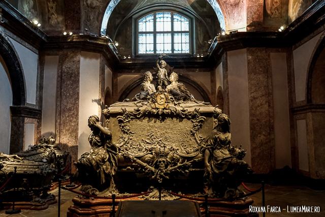 Mormântul Mariei Terezia în Cripta Capucinilor