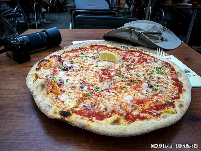 Pizza la Osteria din Viena
