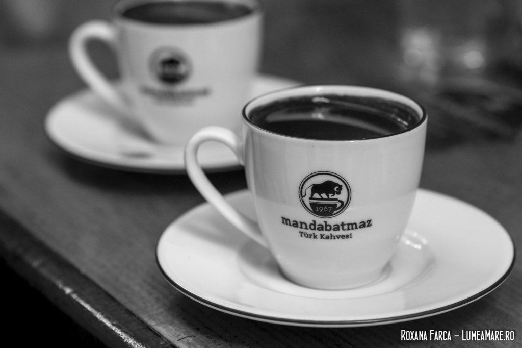 Cafea turcească în Istanbul