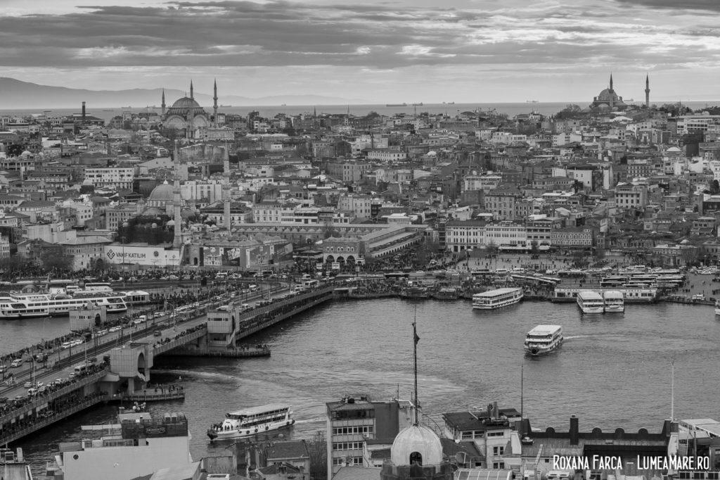 Bătrânul Istanbul în alb și negru